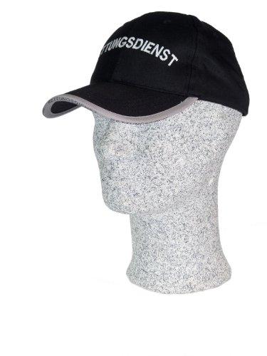 TacFirst Baseball Cap mit Stick Rettungsdienst Schwarz, 1 SZ