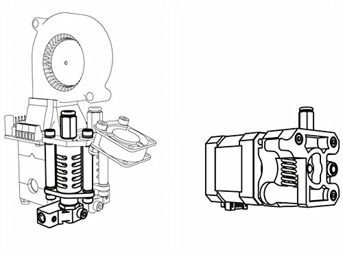 VELLEMAN - K8402 tweede sproeier voor Vertex-3D-printer 840610