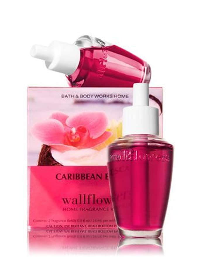 一瞬コーチ数学【Bath&Body Works/バス&ボディワークス】 ホームフレグランス 詰替えリフィル(2個入り) カリビアンエスケープ Wallflowers Home Fragrance 2-Pack Refills Caribbean Escape [並行輸入品]