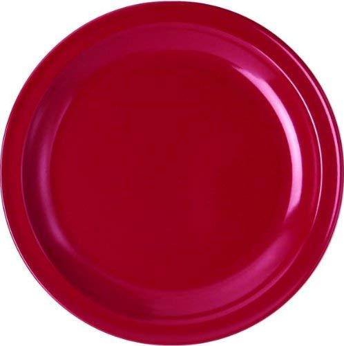 Relags Waca Assiette en mélamine Rouge Ø 23,5 cm