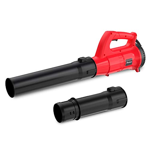 AVID POWER Electric Leaf Blower, 12Amp 600CFM Corded Leaf Blower, 6 Variable Speed Leaf Sweeper for Lawns, Yards, Patios, Gardens