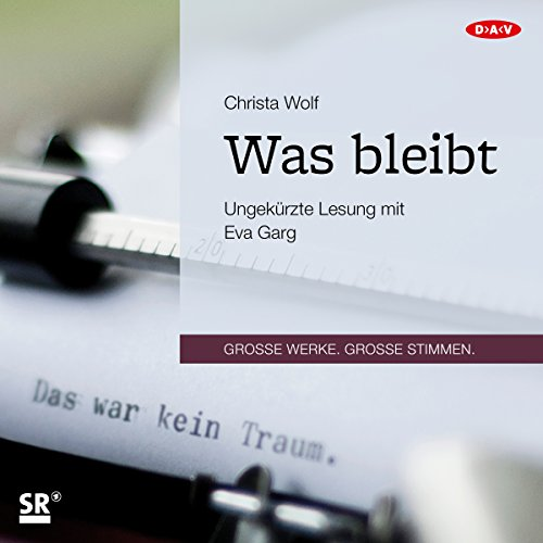 Was bleibt audiobook cover art