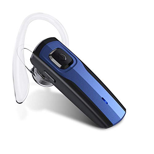 Auricular Bluetooth, Auricular Manos Libres Bluetooth Oreja del Auricular inalámbrico para el Camionero del Negocio, Bluetooth 4.1 Compatible para el teléfono móvil androide del iPhone
