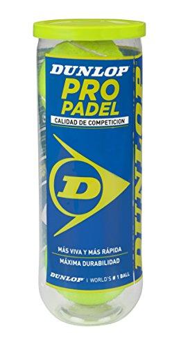 Dunlop Pelotas de Pádel Pro Bote 3