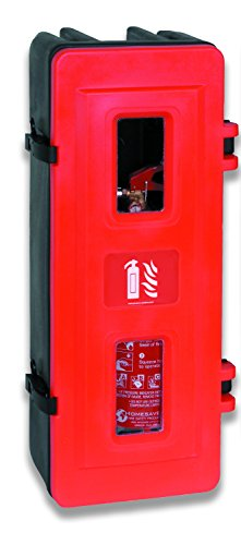 Jonesco HS70único extintor armario, 6/9kg, rojo
