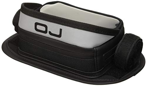 OJ M089 Case Mini Borsa in Poliestere Porta Accessori, GPS o Smartphone da Fissare al Manubrio, 14 x 9 x 5 cm,  Volume: 0,5 L, Nero