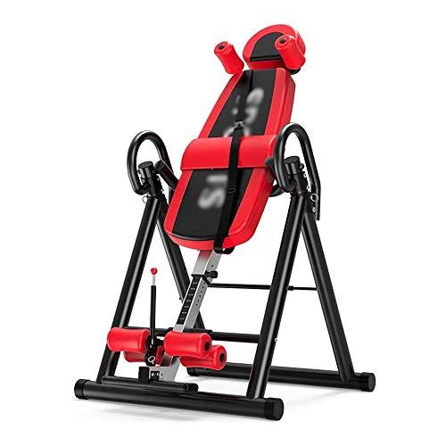BZLLW Inversions, Dehnen und Aufstockung Kopf gestellt Gerät, Gravity Inverted Tisch, Faltbarer Behandlungstisch, Home Gym Fitness-Trainingsmaschine