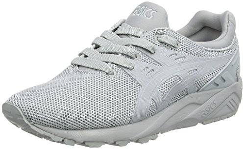 Asics Gel-Kayano Trainer Evo, Unisex Erwachsene Laufschuhe, Grey (Light Grey/Light Grey), 37 EU (3.5 UK)