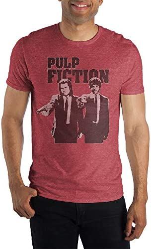 Pulp Fiction Red Heather T Shirt Medium product image
