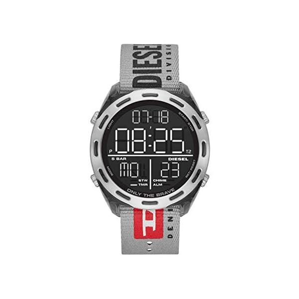 Diesel Herren LCD Digital Uhr 1