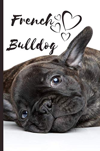 French Bulldog Dog Notebook For Dog Lovers: Composition Notebook 6x9' Blank Lined Journal