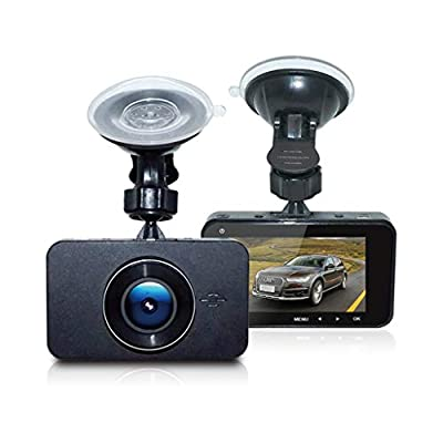 XIANWEI Car Driving Recorder,Full HD Car Camera,Driving Video Recorder Night Vision Car Dashboard Camera,3-inch HD Screen by XIANWEI