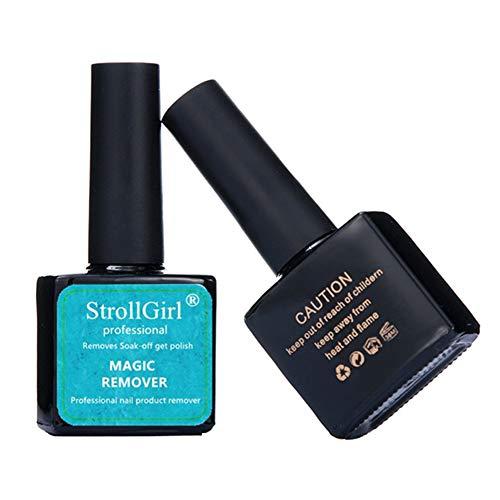 Stella nagellak verwijderaar, gemakkelijk en snel verwijdert Soak-Off Gel Polish, geen pijn nagels, professionele niet-irriterende nagellak verwijder-15ml 1 exemplaar