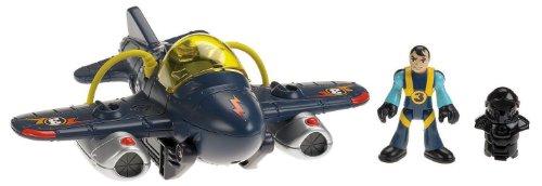 Imaginext - T5310 - Figurine - Transport et Circulation - Avion Looping + Figurine