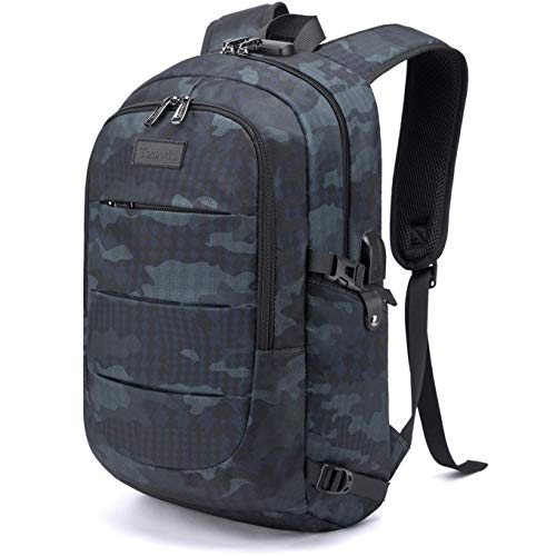 Tzowla Business Laptop Backpack Water Resistant Anti-Theft College Backpack with...