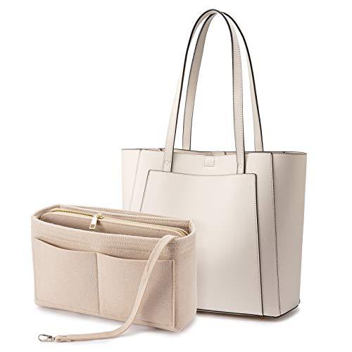 LOVEVOOK Handtaschen für Frauen, Schulter-Tragetasche, mit Geldbörsen-Organizer-Einsatz