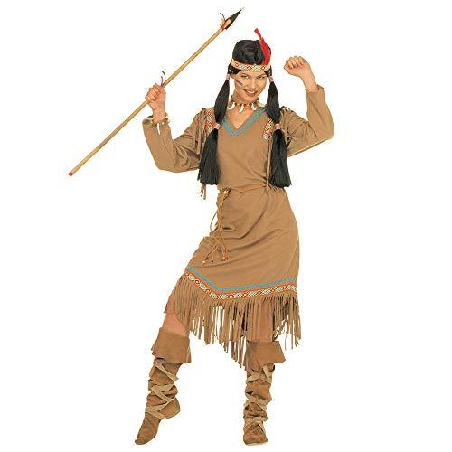 WIDMANN Widman - Disfraz de indio del salvaje oeste para mujer, talla M (S/43362)