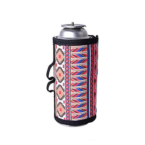 Nimennow ガス缶カバー ガスキャニスターカバー カバー ガスタンクカバー CB/OD缶カバー プロテクター保管バッグ アウトドア燃料シリンダー収納バッグ ガスボンベ カートリッジ ストーブカバー プロテクター キャンプ用 (マルチカラー)