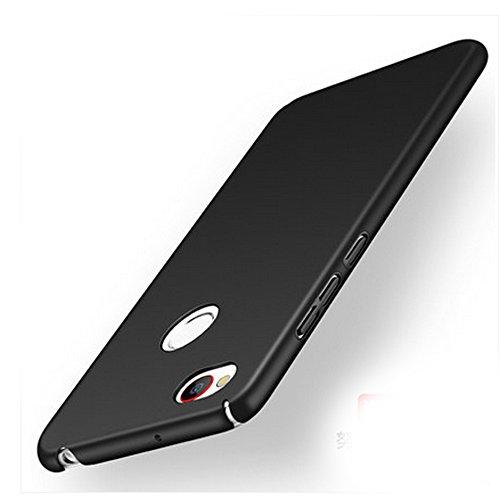 UKDANDANWEI ZTE Nubia Z11 Mini S Hülle,extrem schlicht-dünn-Leichte PC Handy Schutzhülle für ZTE Nubia Z11 Mini S - Schwarz