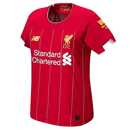 New Balance Liverpool FC 2019/20 Home Damen Ss Top Size 38