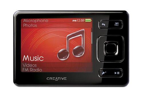 Creative Zen MX FM MP3-/Video-Player 8 GB mit Radio schwarz