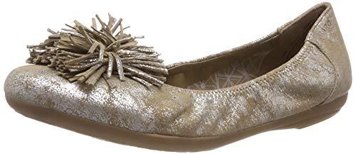 Marc Shoes Damen Janine Geschlossene Ballerinas, Grau (Caruso Taupe 00744), 36 EU
