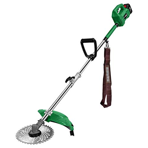 NBVCX Home AccessoriesLightweight Cordless Grass Trimmer Hand Held Lawn Cutte Strimmer 48v Trimming Weeds and Cutting Grass Lawn Edges Garden Tools (Color : 48V Size : 4.0AH)