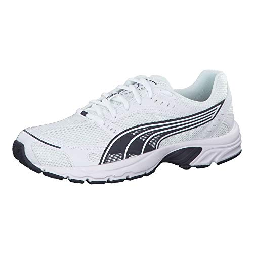 PUMA Axis, Zapatillas Unisex Adulto, Blanco White-Peacoat, 43 EU