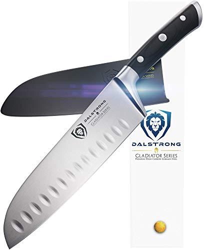 Dalstrong Cuchillo Santoku - Gladiator Sucesión - HC alemán acero -
