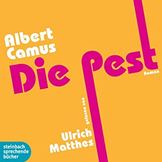 Die Pest                   By:                                                                                                                                 Albert Camus                               Narrated by:                                                                                                                                 Ulrich Matthes                      Length: 3 hrs and 11 mins     1 rating     Overall 4.0