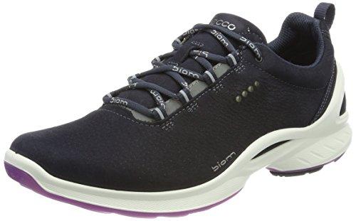 Ecco Damen BIOMFJUELW Sneaker, Blau (Navy 2058), 41 EU