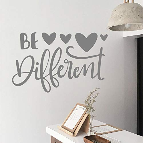 Tianpengyuanshuai Creativity is different self-adhesive wall stickers art wallpaper removable wall stickers room decoration 40x26cm