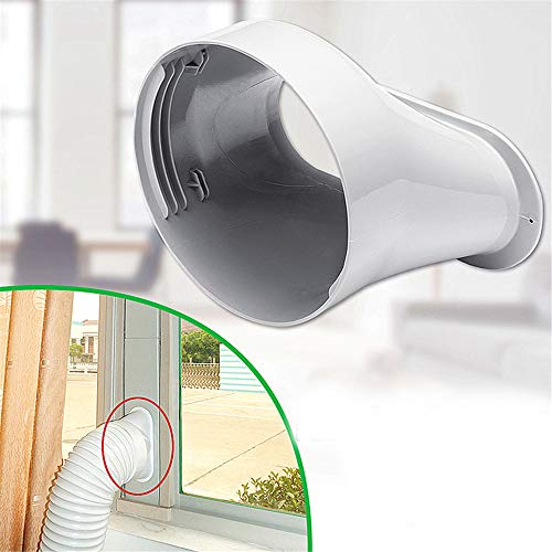 MYAMIA 6-Zoll-Fenster-Adapter-Rohrverbinder Für Abluftschlauch-Kit Für Tragbare Klimaanlagen