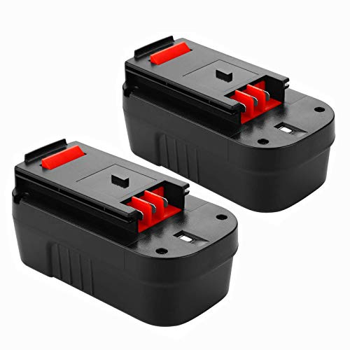2Pack 18V 3.6Ah HPB18-OPE Replacement Battery for Black and Decker 18 Volt Battery HPB18 244760-00 A1718 FSB18 FS18FL Firestorm Cordless Power Tools