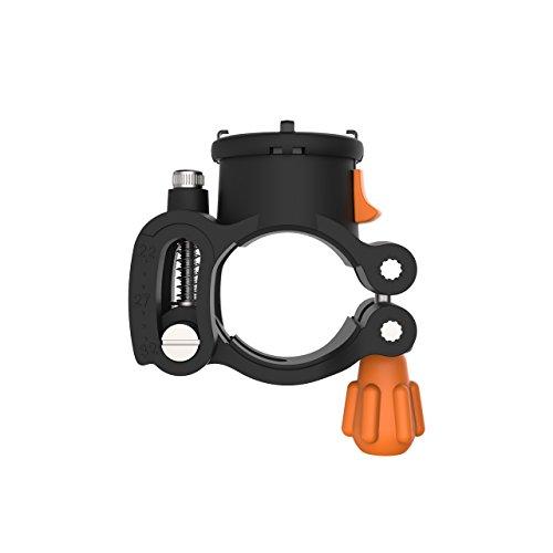 MORPHEUS LABS M4s Carbon-Fieber BikeMount, Fahrradhalterung passend für alle M4s Hüllen, einstellbar für Lenker von 22mm bis 32mm