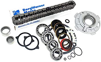 TRANSFER CASE CHAIN PUMP 87-93 JEEP NP231J FILTER /& BEARING REBUILD KIT