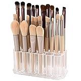 Acrylic Makeup Brush Holder, Nail Polish Organizer, Clear Brushes Beauty Organizers and Cosmetic Display Storage Box