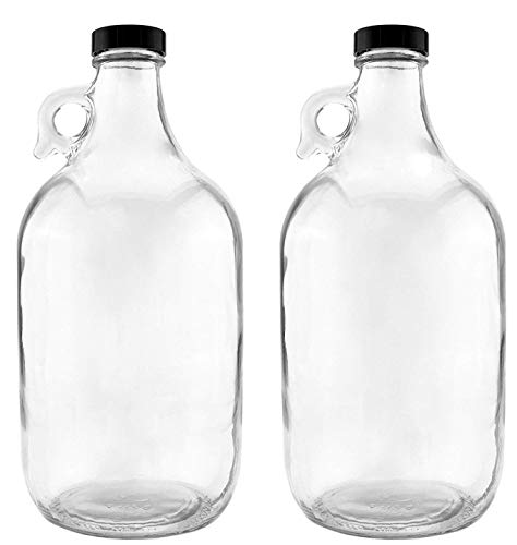 FastRack .5G Jugs-2 packs 2.5G, 5 Gallon, Clear