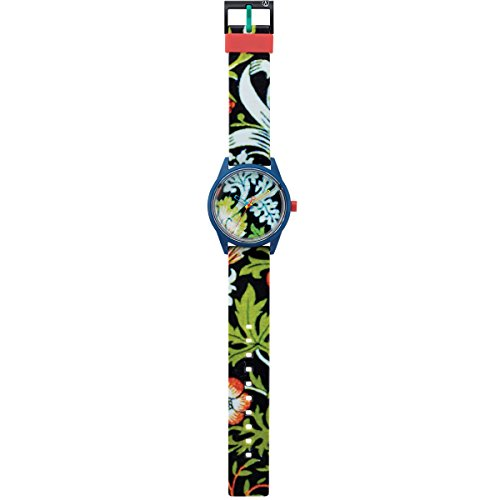 Q&Q SmileSolar Unisex Solar Uhr mit Plastik armband Analog Quarz RP00J028