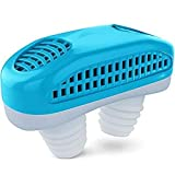 Vitalogy - Snore Stopper Device | Anti Snoring & Air Purifier 2 in 1 Sleep Apnea Machine for Men & Women | Improves Nasal Health | Breath Easy & Sleep Quiet | Pack of 1 anti snore mouthpieces May, 2021
