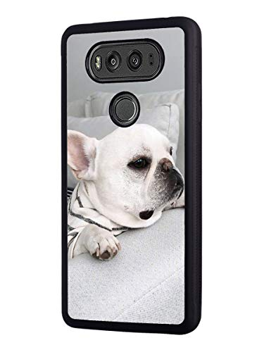 Case for LG G6, Slim Anti-Scratch TPU Rubber Protective Case Cover for LG G6 - Cute French Bulldog