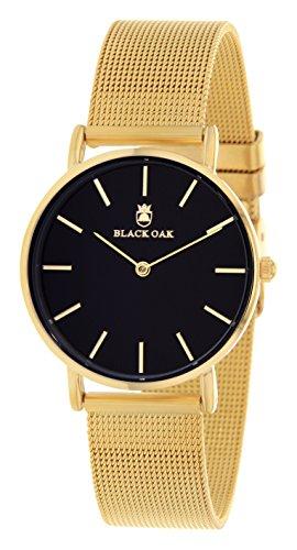 BLACK OAK Damen Quarz Uhr BX42004G-103