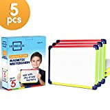 Scribbledo Colored Frame Magnetic Dry Erase White Boards Pack of 5 l 9' X 12' Whiteboard