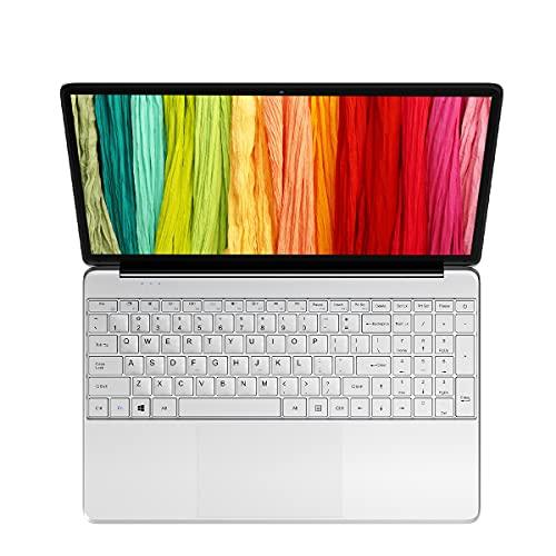 KUU A8S Ordenador Portátil 15.6'', Notebook Inter Celeron J3455, 6GB RAM DDR3 256GB SSD, Monitor de PC portátil FHD con Puerto Ethernet RJ45 y Bluetooth 4.0, portátil con Windows 10