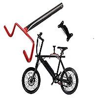 Ipinkiong 【1個セット】 自転車壁掛けフック 自転車ハンガー バイクハンガー バイクスタンド 自転車ディスプレイ 壁 ディスプレイ ラック 自転車ホルダー 角度 調整 収納可能 自転車 スタンド 壁掛け 室内用 ロードバイク サイクル 縦置き 壁かけ ハンガー フック 自転車用ディスプレイスタンド収納 軽量コンパクト 簡単設置 バイクハンガー 自転車ディスプレイ 自転車壁掛けフック バイクスタンド 自転車ホルダー 角度 調整 自転車ハンガー 壁 ディスプレイ ラック 収納可能 自転車 ディスプレイスタンド バイクハンガー 壁掛け式折り畳み型フック
