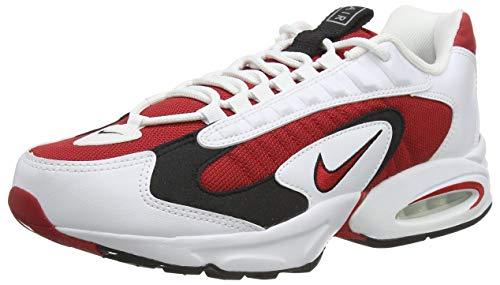 Nike Air Max Triax 96, Scarpe da Corsa Uomo, Bianco (Bianco/Nero/Spar/Gym Red, 44 EU