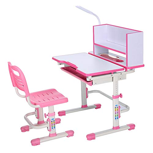 Great Features Of Quisilife High Chair, Desk Chair Set Multi-Functional Desk and Chair Set Childen K...