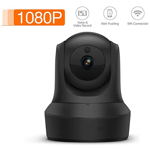 1080P WiFi IP-camera, infrarood Night Vision Home Surveillance Monitor 3D Navigation Moving Head Machine Ondersteuning twee-weg audio, for een kind/Dier/Elder HAOSHUAI