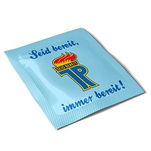 Ostprodukte-Versand.de Kondom JP Seid bereit, Immer bereit! - Ossi Artikel - DDR Produkte