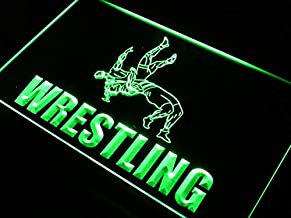 ADVPRO Wrestling Fight Game Bar Beer LED Neon Sign Green 24 x 16 Inches st4s64-j637-g